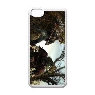 "iphone 5C hard plastic cover cases with TV show ""The Walking Dead"" pattern 33 Cell Phones & Accessories"