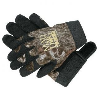 Stearns Mad Dog Gear Shooters Gloves, MOB, Large  Hunting Camouflage Accessories  Clothing