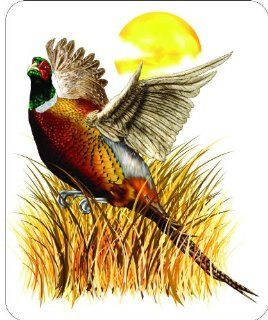 "6"" PHEASANT Printed vinyl decal sticker for any smooth surface such as windows bumpers laptops or any smooth surface."