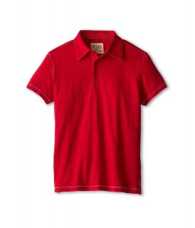 Joes Jeans Kids S/S Polo Shirt Boys Short Sleeve Pullover (Red)