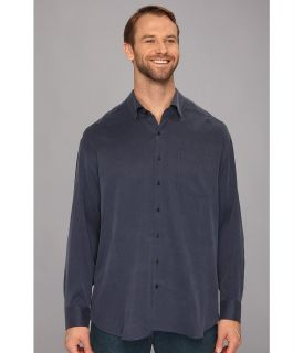 Tommy Bahama Big & Tall Big Tall New Crystal Bay L/S Shirt Mens Long Sleeve Button Up (Navy)