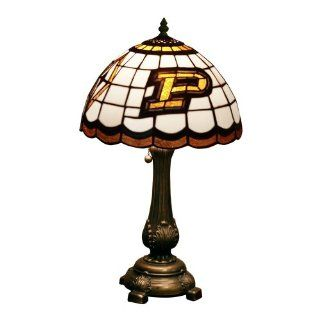 NCAA Purdue Tiffany Table Lamp  Sports & Outdoors