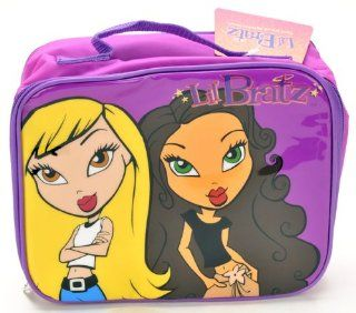 "Birthday Christmas Gift   Bratz Insulated Lunch Bag and Mickey Mouse 200 Piece Stickers Set, Size Approximately 10"" X 8"" Toys & Games"