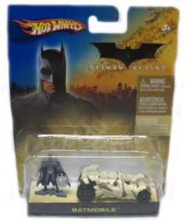 Mattel Hot Wheels 2005 164 Scale Batman Begins Camouflage Mini Batmobile and Figure Car Gift Set Toys & Games