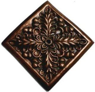 Pentair 5822707 WallSpring Bronze Square Fern Rosette Decorative Accent  Swimming Pools  Patio, Lawn & Garden