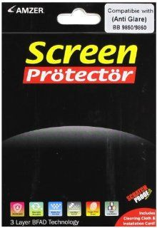 Amzer Anti Glare Screen Protector with Cleaning Cloth for BlackBerry Torch 9850/9860 Cell Phones & Accessories