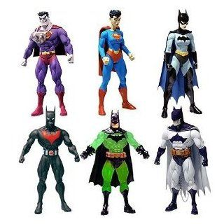 Superman Batman series 4 Action Figure set DC DIRECT   6 FIGURES   Batman Beyond, Kryptonite Batman, Bizarro, Superwoman, Batwoman, & Batzarro   Toys $90 valuepublic enemies Toys & Games