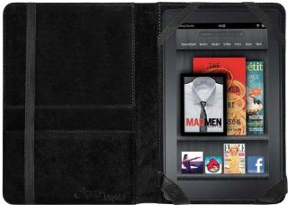 CrazyOnDigital Slim Black Leather Case with Screen Protector For  Kindle FIRE[Doesn't fit Kindle Fire HD] Kindle Store
