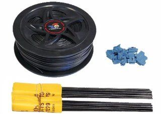 High Tech Pet Boundary Extension Wire and Flag Kit BE 500 for Humane Contain Fence Systems  Wireless Pet Fence Products