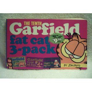 Garfield Fat Cat 3 Pack #10 Contains Garfield Life in the Fat Lane (#28); Garfield Tons of Fun (#29); Garfi eld Bigger and Better (#30)) Jim Davis 9780345434586 Books