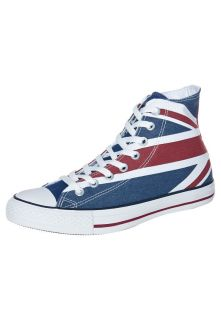 Converse   ALL STAR HI CANVAS GRAPHICS   High top trainers   blue