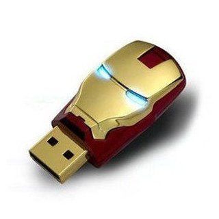 64 Gb USB 2.0 Memory Stick Flash Pen Drive Unique Iron Man Model Enough Memory Computers & Accessories