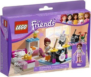 Lego Friends 3939 Mia's Bedroom Set From Thailand
