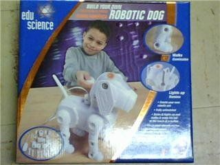 BUILD YOUR OWN ROBOTIC DOG Toys & Games