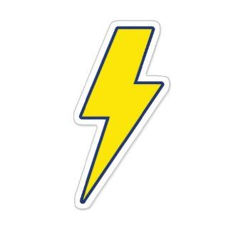 Lightning Bolt Car Sticker Decal Large 11""