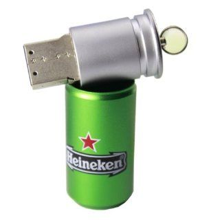 32G Heineken Style 32 GB Cans Model USB 2.0 Enough Memory Stick Flash Pen Drive 32GB Computers & Accessories