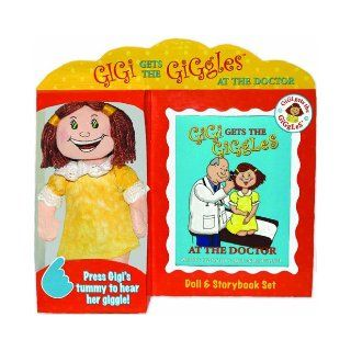 """Gigi Gets the Giggles"" At the Doctor Book and Toy Set Joanne Gendron Boulanger 0601959067092 Books"