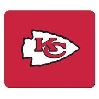 "Kansas City Chiefs NFL Neoprene Logo 8""x7"" Sports Fan Mouse Pad  Sports & Outdoors"