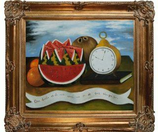Art Frida How Beautiful Life is When it Gives Us its Riches Canvas Art, Renaissance Bronze Frame/Finish   Oil Paintings