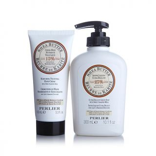 Perlier Shea Butter Hand Cream and Liquid Soap