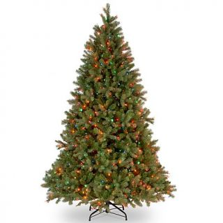 7.5 ft. FEEL REAL® Downswept Douglas Fir Tree with Multicolor Lights