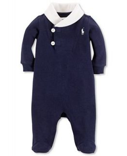 Ralph Lauren Baby Coverall, Baby Boys French Rib Coverall   Kids