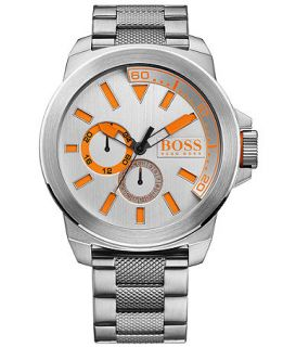 Hugo Boss Mens Boss Orange Stainless Steel Bracelet Watch 50mm 1513012   Watches   Jewelry & Watches