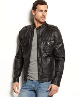Lucky Brands Jeans Scrambler Moto Jacket   Coats & Jackets   Men
