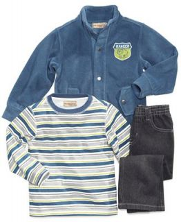 Kids Headquarters Baby Set, Baby Boys 3 Piece Jacket, Shirt and Pants   Kids