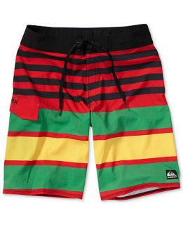Quiksilver Swimwear, Why Cant You Stripe Boardshorts   Swimwear   Men