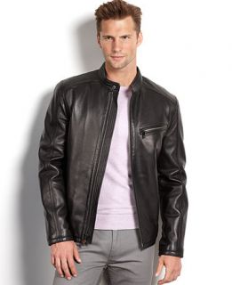 Marc New York Jacket, Sutton Smooth Lamb Leather Moto Jacket   Coats & Jackets   Men