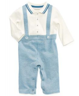 First Impressions Baby Set, Baby Boys 3 Piece Vest, Shirt and Pants   Kids
