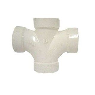 "2"" Double Sanitary Tee PVC DWV   Pipe Fittings"