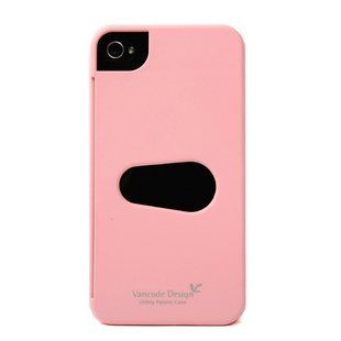 Vancode Design iPhone 4 4S Barely There Credit Card Hard Cover Case (Pink) Cell Phones & Accessories