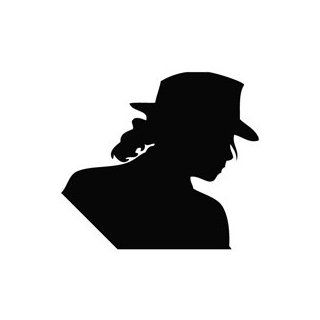 Michael Jackson Outline   Movie Decal Vinyl Car Wall Laptop Cellphone Sticker   Wall Decor Stickers