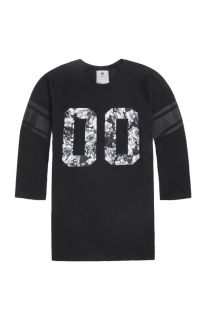 Mens On The Byas Long Sleeve Shirts   On The Byas Smith Floral Jersey T Shirt