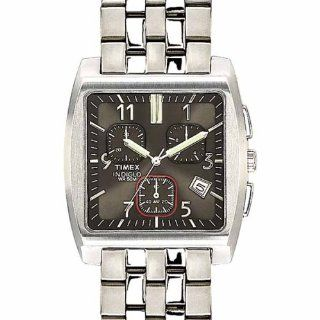 Timex Men's T22232 Premium Collection Gray Dial Chronograph Stainless Steel Bracelet Watch Timex Watches