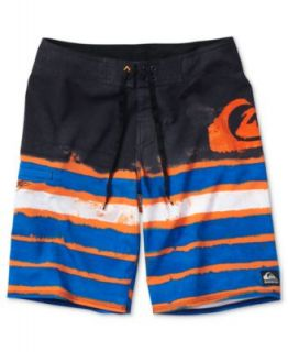 Quiksilver Kids Swim, Boys Scallopus Amphibian Shorts   Kids