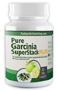 NEW Weight Loss Pill, Diet Pill, and Appetite Suppressant Pure Garcinia Super Stack PLUS   Pure Garcinia Cambogia Extract and Green Coffee Bean Extract Combined Certified HCA and GCA, Burn Fat Fast (1 Bottle (1 MONTH SUPPLY)) Health & Personal Care