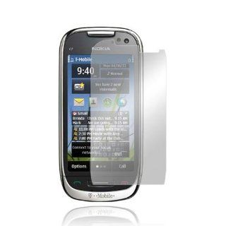 MIRROR LCD Screen Protector Cover Kit Film For Nokia Astound C7 00 Cell Phones & Accessories