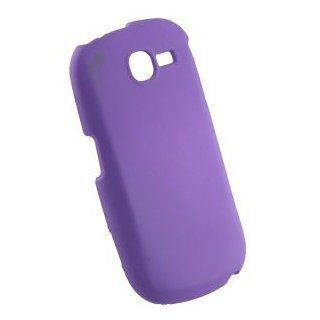 Purple Rubberized Hard Case Cover for AT&T Samsung SGH A187 Electronics