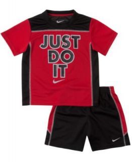 Nike Little Boys 2 Piece Mesh Tee & Shorts   Kids
