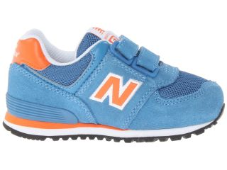 New Balance Kids KV574 (Toddler) Blue/Orange