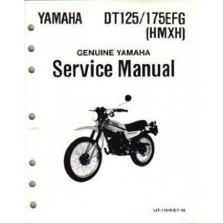 Official 1978 1980 Yamaha DT125 DT175 Factory Service Manual Yamaha Motors Books