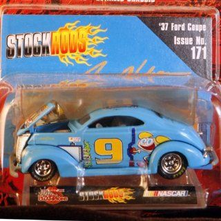 Racing Champions 10th Anniversary Limited Edition   Stock Rods Series   3.25 inch Replica     Jerry Nadeau #9   1937 Ford Coupe   Cartoon Network   Issue #171 Toys & Games