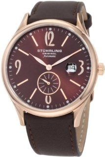 Stuhrling Original Men's 171D.3345K59 Classic Cuvette Infinity Automatic Date Watch Watches
