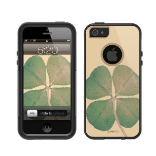 iPhone 5 / 5S Case [Black] Four Leaf Clover iPhone 5 / 5S Case [Black] Galactic Mountain [Dual Layer] UnnitoTM *1 Year Warranty* Case Protective [Custom] Commuter Protection Cover iPhone 5S Cell Phones & Accessories