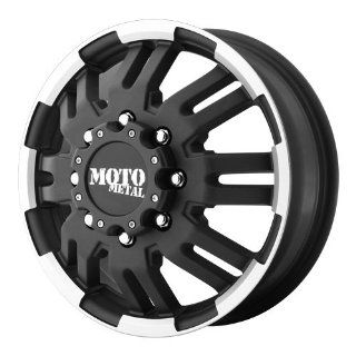 16x6 Moto Metal MO963 Dually (Matte Black / Machined) Wheels/Rims 8x165.1 (MO96366080799) Automotive