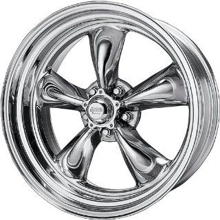 American Racing Vintage Torq Thrust II 15x7 Chrome Wheel / Rim 5x4.75 with a  6mm Offset and a 83.06 Hub Bore. Partnumber VN8155761 Automotive