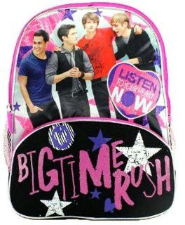 "16"" Big Time Rush Listen to Your Heart Backpack tote bag school Toys & Games"